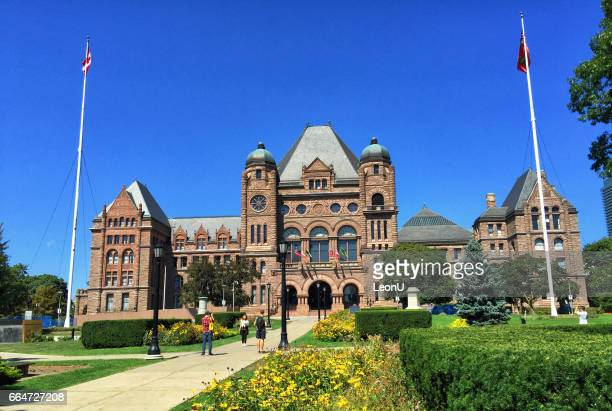 ontario parliament building, toronto, canada - istock photo stock pictures, royalty-free photos & images