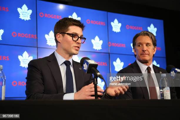 Toronto-DUBAS.The Maple Leafs announced today the promotion of Kyle Dubas to General Manager. Brendan Shanahan was on hand for the...
