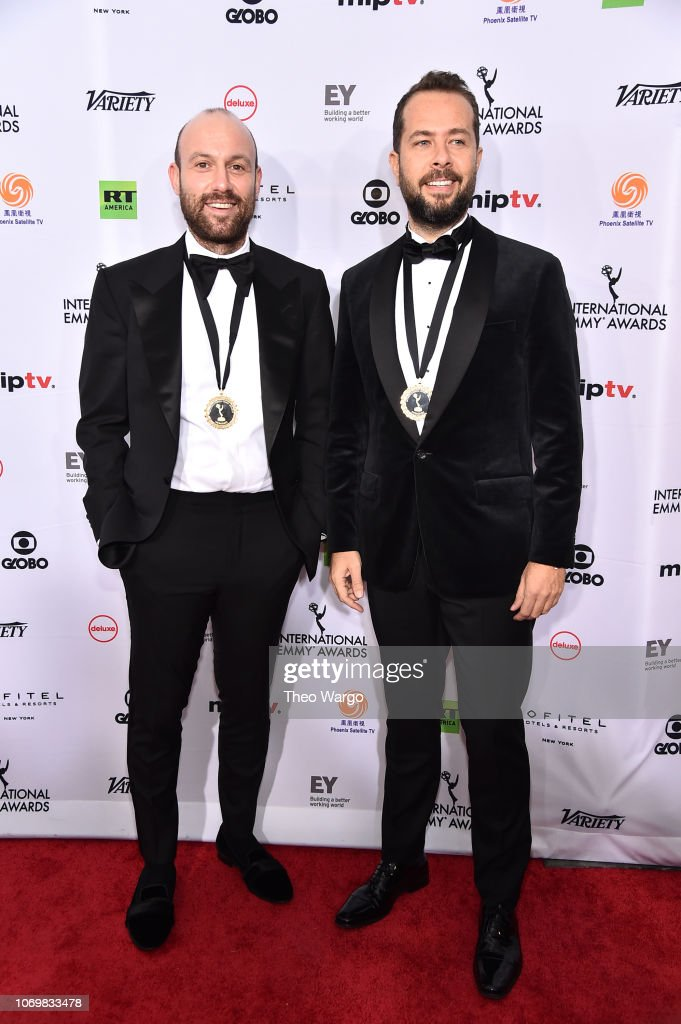 46th Annual International Emmy Awards - Arrivals : News Photo