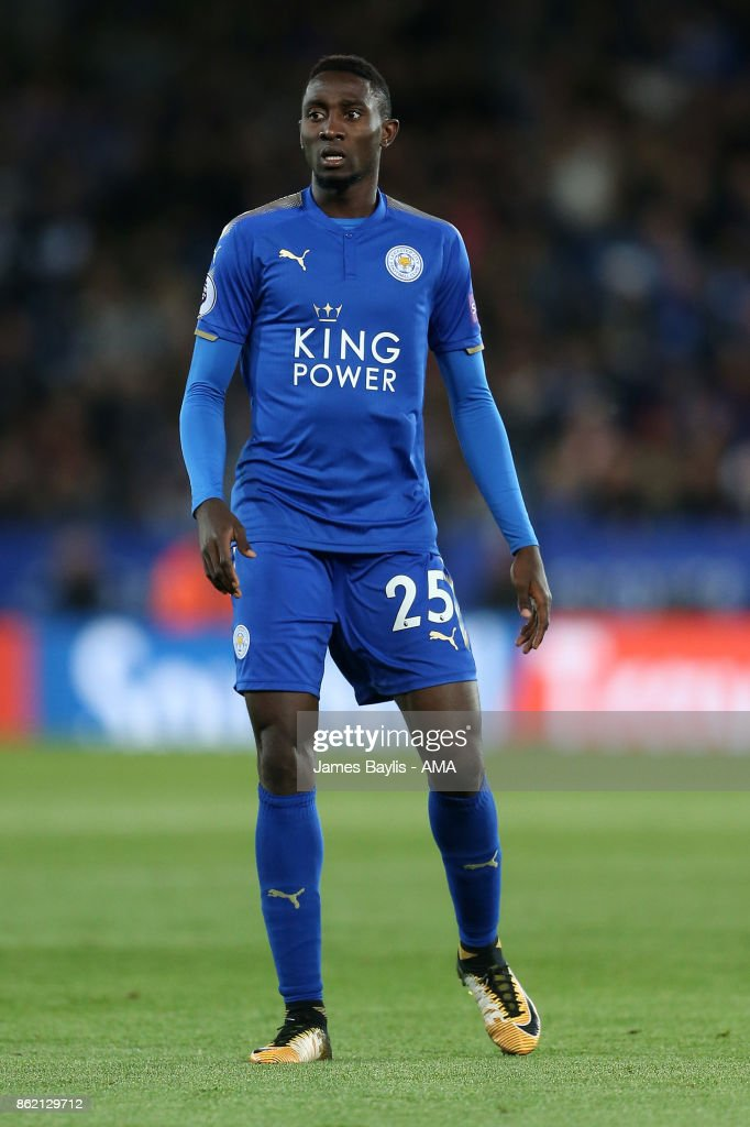 Onyinye Ndidi of Leicester City during the Premier League match between Leicester City and West Bromwich Albion at The King Power Stadium on October 16, 2017 in Leicester, England.