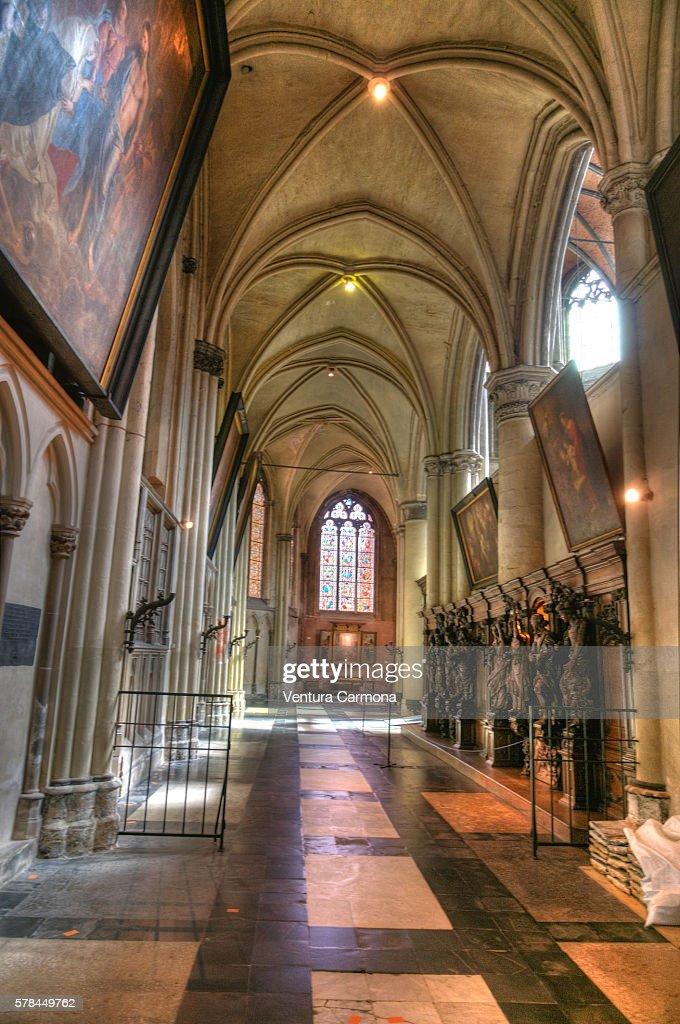 Onze-Lieve-Vrouwekerk : Stock Photo