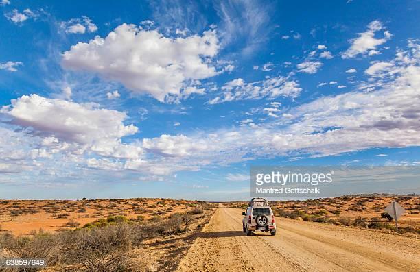 Oodnadatta Track semi-desert scenery