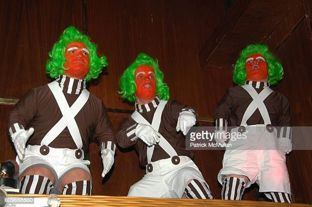 Oompa Loompas attends MARQUEE Fourth Year Anniversary at Marquee NYC on December 13 2007 in New York City