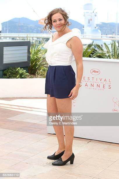 Oona Airola attends the The Happiest Day In The life Of Olli Maki photocall during the 69th annual Cannes Film Festival at Palais des Festivals on...