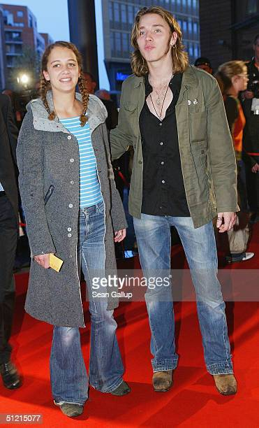 Oona Devi Liebich and singer Gil attend the First Steps Awards 2004, German-language films and commercials made by young and emerging directors, at...