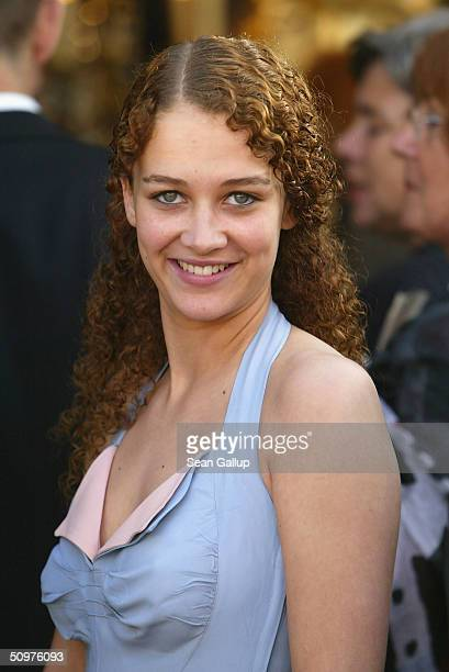Oona Devi Liebich attends the German Film Awards at the Tempodrom on June 18 2004 in Berlin Germany