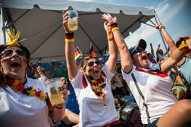 USA: Soccer Fans Gather To Watch Semifinal World Cup Match Between Germany And Brazil