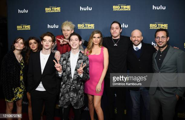 Oona Laurence, Brielle Barbusca, Thomas Barbusca, Colson Baker AKA Machine Gun Kelly, Griffin Gluck, Emily Arlook, Pete Davidson, Jon Cryer and Jason...