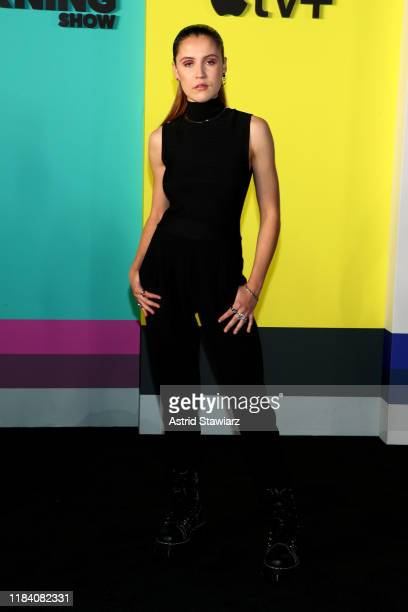 Oona Roche attends Apple TV's The Morning Show World Premiere at David Geffen Hall on October 28 2019 in New York City