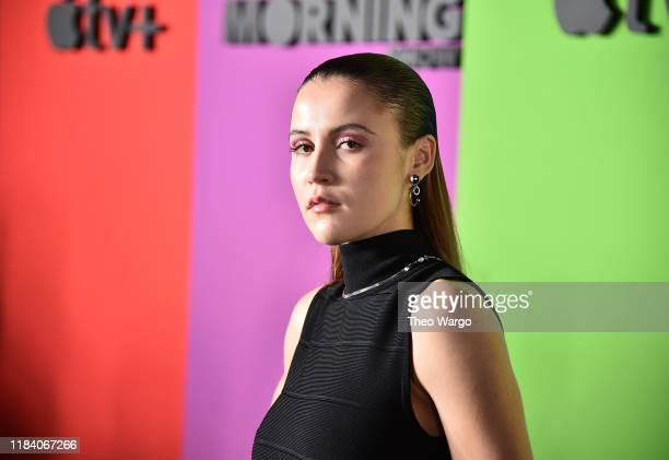 Oona Roche attends the Apple TV's The Morning Show World Premiere at David Geffen Hall on October 28 2019 in New York City