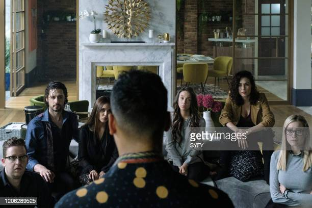 THE MAGICIANS Oops I did It Again Episode 506 Pictured Trevor Einhorn as Josh Hoberman Hale Appleman as Eliot Waugh Summer Bishil as Margo Hanson...