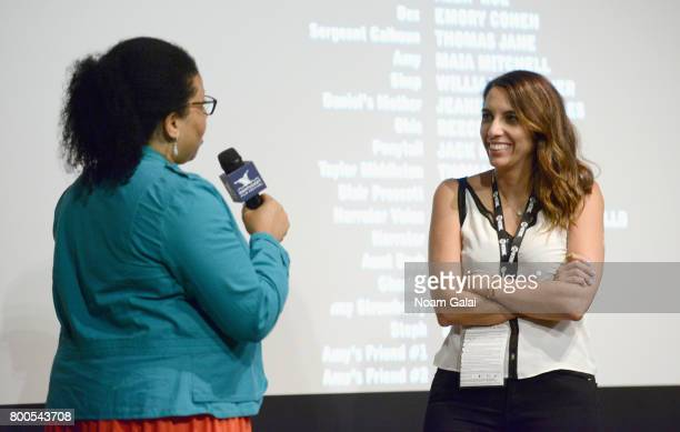 Opal Bennett and producer Jasmine Daghighian attend the screening of 'Hot Summer Nights' during the 2017 Nantucket Film Festival Day 3 on June 23...