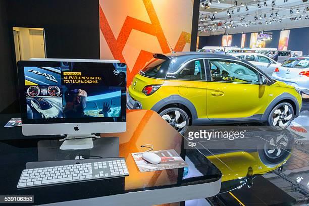 Opel Adam kompakte Hecktürmodell Auto