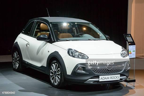 "opel adam rocks compact hatchback car - ""sjoerd van der wal"" or ""sjo"" stock pictures, royalty-free photos & images"