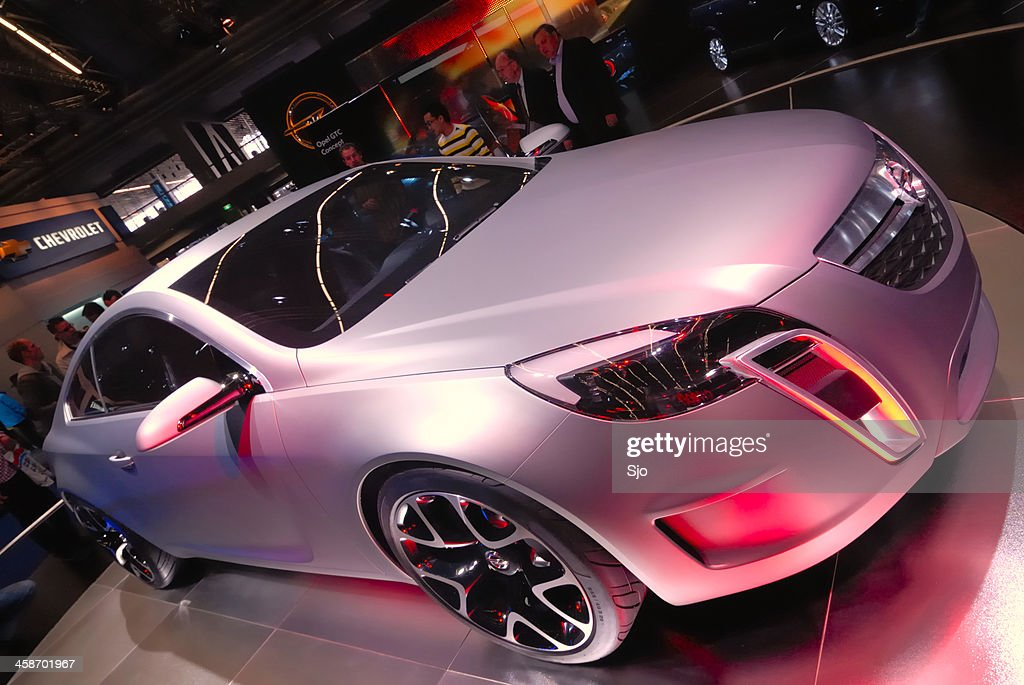 Opel Gtc Concept Stock Photo Getty Images