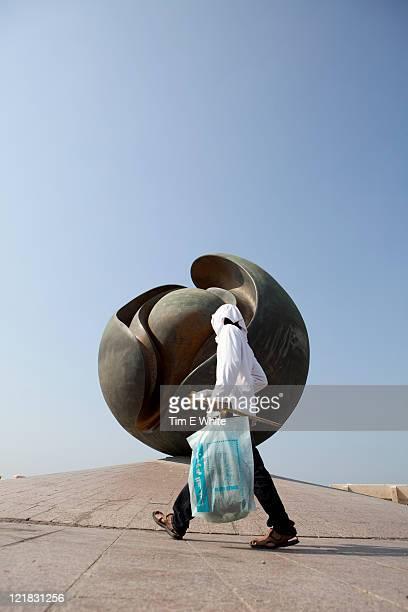 Open Air Art Museum along the corniche, Jeddah, Saudi Arabia, Middle East