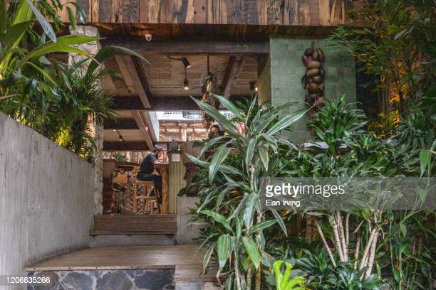 open air spaces in medellin - medellin colombia stock pictures, royalty-free photos & images