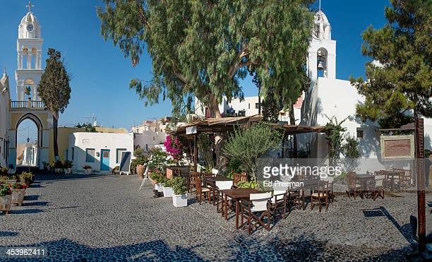 Open Air Village Restaurant, Santorini