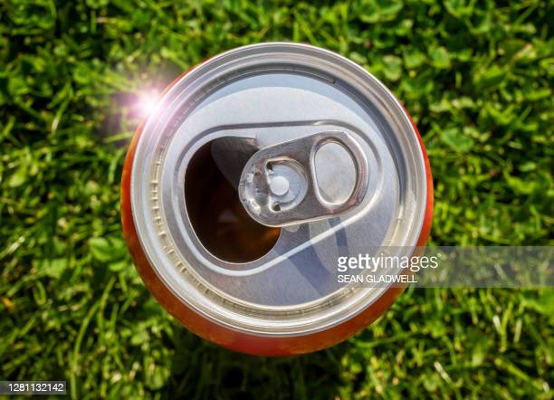 open aluminium drinks can - tin can stock pictures, royalty-free photos & images