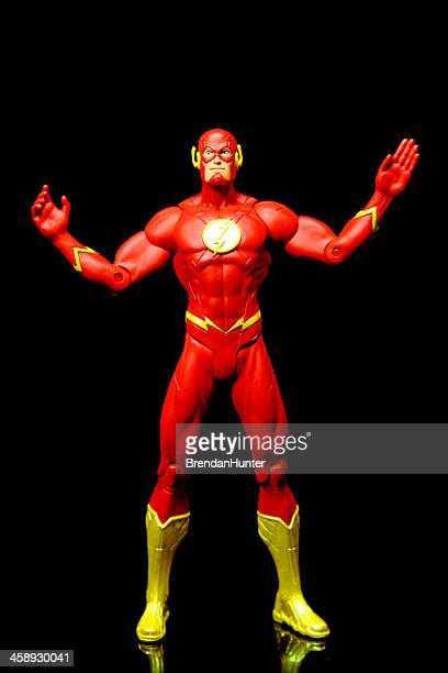 open arms - the flash superhero stock photos and pictures