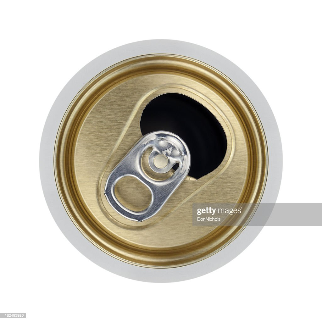 Open Beverage Can : Stock Photo