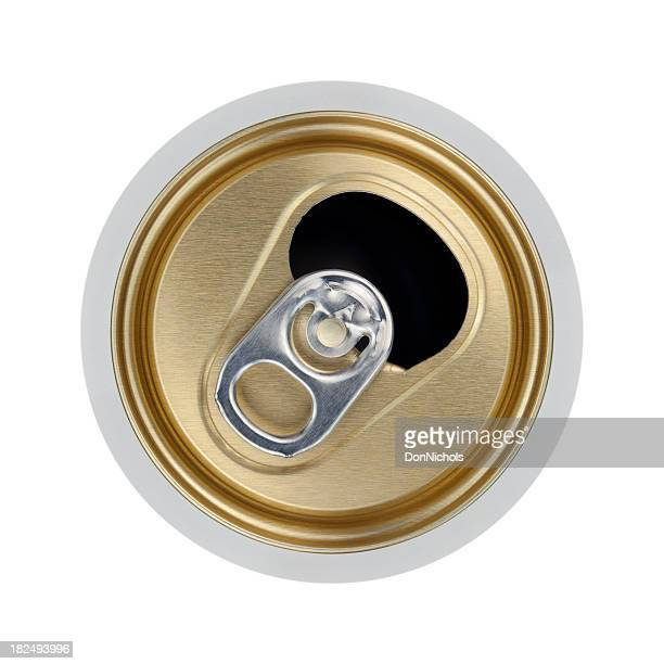 Open Beverage Can