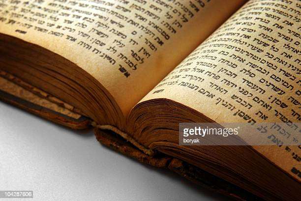 open bible closeup - torah stock pictures, royalty-free photos & images