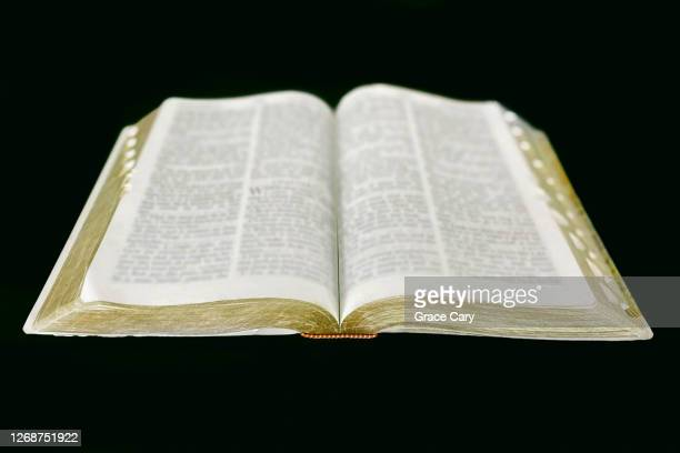 open bible - old testament stock pictures, royalty-free photos & images