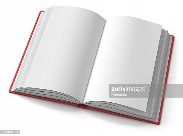 Livre ouvert vide hardback