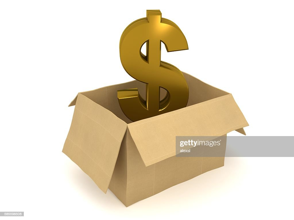 Open box dollar symbol currency isolated concept stock photo open box dollar symbol currency isolated concept stock photo biocorpaavc Choice Image