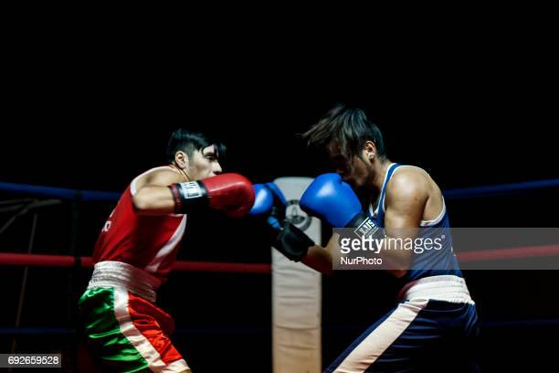 Open Boxing at the Osorno Club Mexico brought together boxers from different Chilean cities in Osorno Chile on 2 June 2017