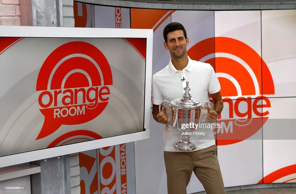 2018 US Open Champions Media Tour : News Photo