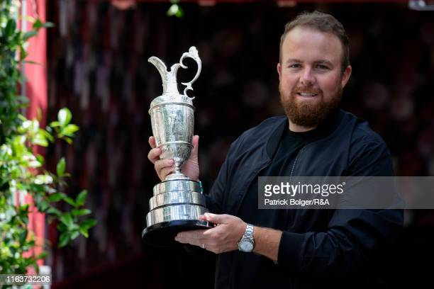 Open Champion Shane Lowry during a press briefing on July 23 2019 in Dublin Ireland