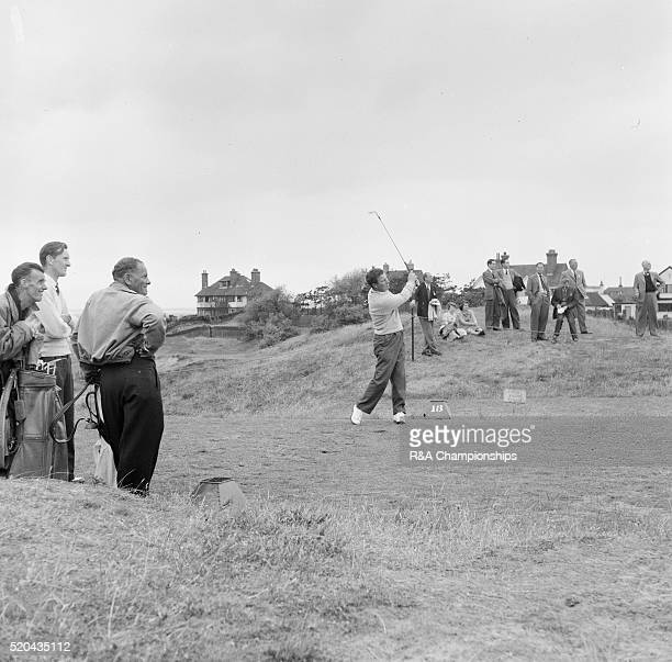 Open Championship 1956 Royal Liverpool Golf Club in Hoylake England held 4th 6th July 1956 Pictured Qualifying Rounds 3rd July 1956 Peter Thomson