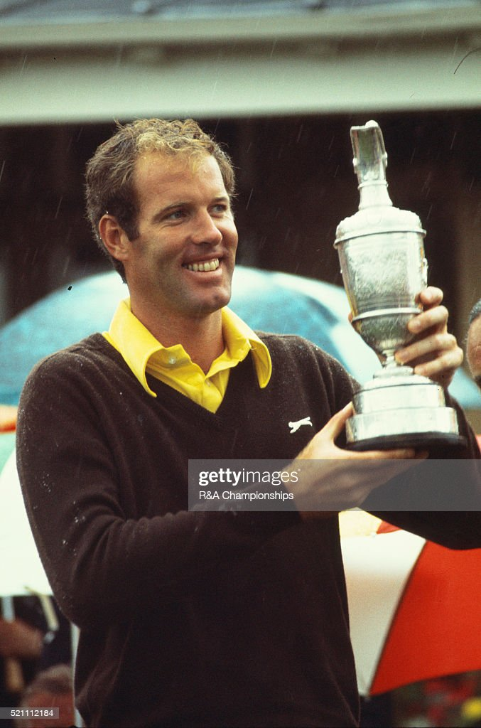Open Championship 1973 at Troon Golf Club in Troon, Scotland, held 11th-14th July 1973. Pictured, Tom Weiskopf after winning. 14th July 1973.