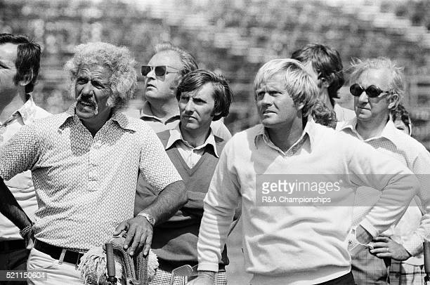 Open Championship 1975 Carnoustie Golf Links Scotland held 9th 13th July 1975 Pictured Jack Nicklaus and caddie Angelo Argea 6th July 1975