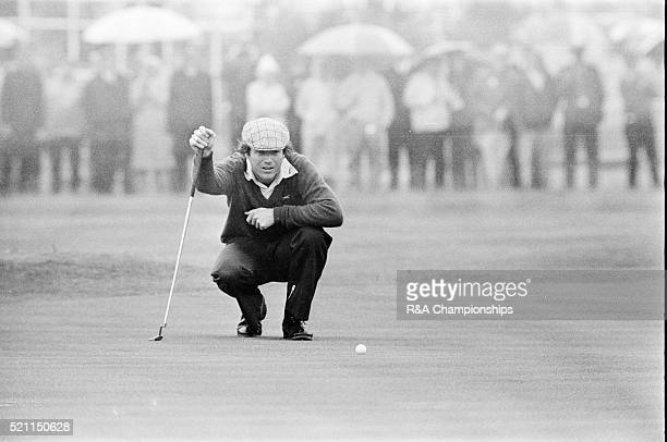 Open Championship 1975 Carnoustie Golf Links Scotland held 9th 13th July 1975 Pictured Tom Watson 13th July 1975