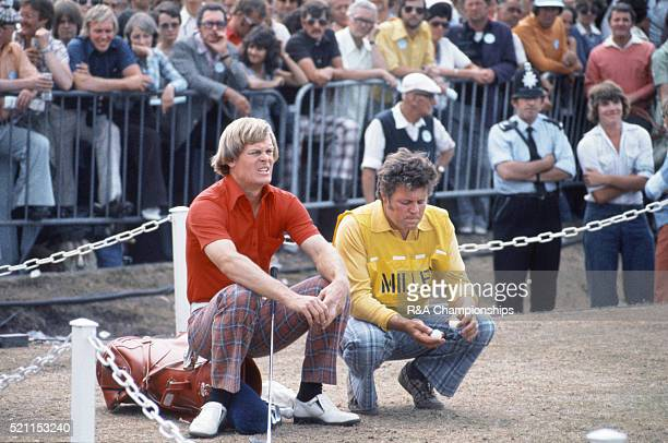 Open Championship 1976 at Royal Birkdale Golf Club in Southport England held 7th 10th July 1976 Pictured Johnny Miller