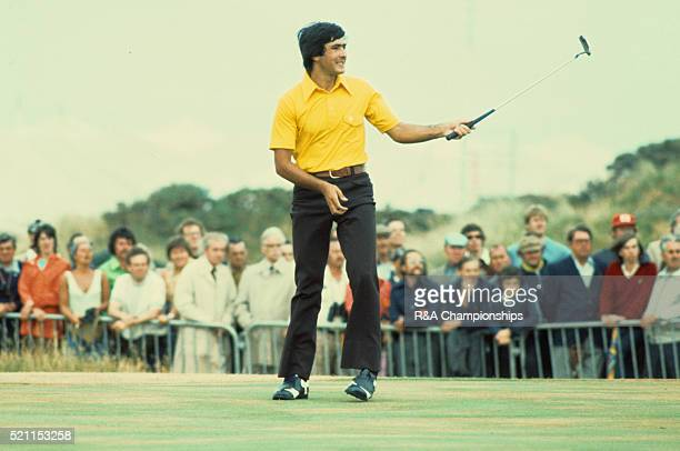 Open Championship 1976 at Royal Birkdale Golf Club in Southport England held 7th 10th July 1976 Pictured Seve Ballesteros