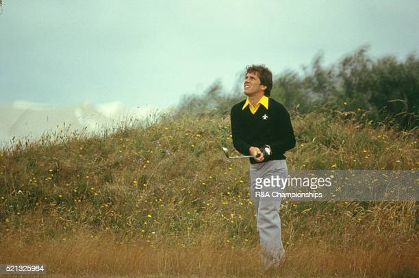 Open Championship 1979 at Royal Lytham St Annes Golf Club in Lancashire England held 18th 21st July 1979 Pictured Bill Longmuir
