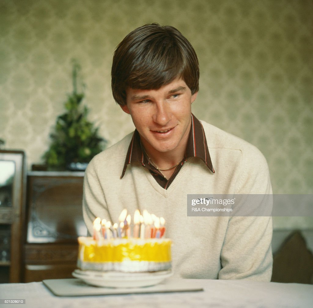 Open Championship 1979 at Royal Lytham & St Annes Golf Club in Lancashire, England, held 18th - 21st July 1979. Pictured, Nick Faldo on his 22nd birthday. 18th July 1979.