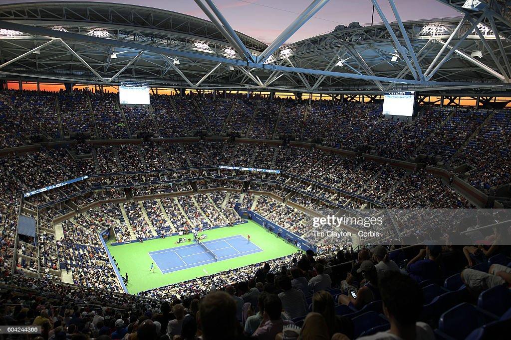 2016 U.S. Open Tennis Tournament. New York. USA. : ニュース写真