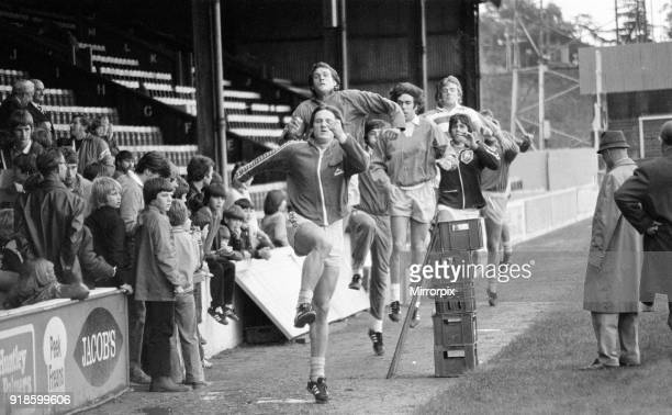 Open day at Elm Park, home of Reading Football Club, Reading, July 1980.