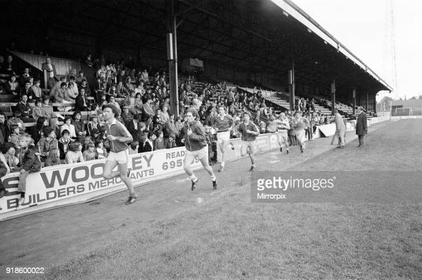 Open day at Elm Park home of Reading Football Club Reading July 1980