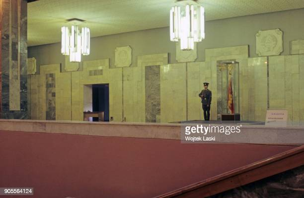 Open days at the KGB school in Moscow, Russia, on July 7th, 1991.