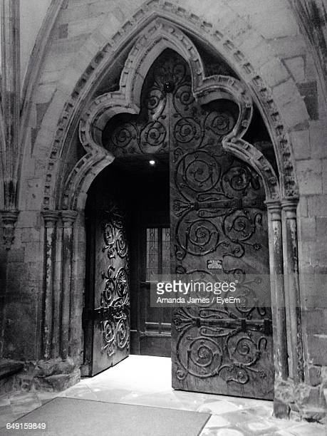 Open Door In Hereford Cathedral
