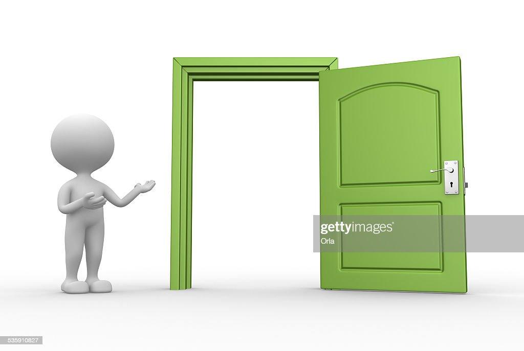 Open door : Stock Photo