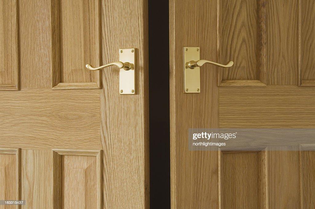 Open doors : Stock Photo