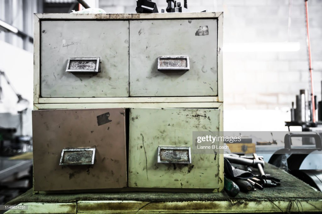 Open Drawer : Stock Photo