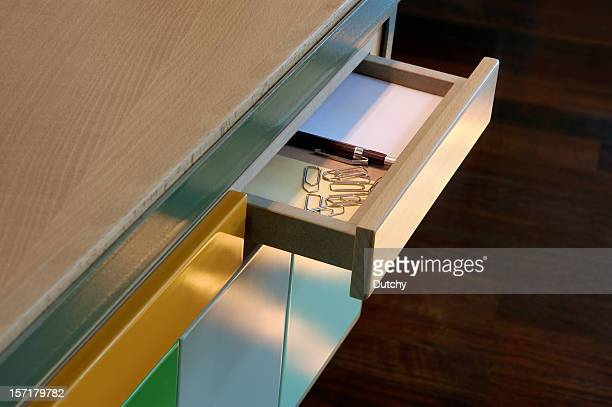 open drawer - drawer stock pictures, royalty-free photos & images